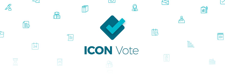 ICON Vote brand